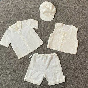 Emile Et Rose Baby Boy Outfit Summer Weddi…